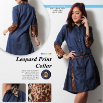 Dress Teny YR Warna Navy