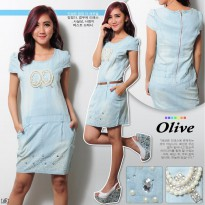 Dress Olive YR Denim