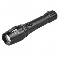 Senter Tactical LED XM-L T6 2000 Lumens - Black