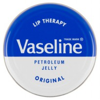 Biru/plain vaseline lip therapy original