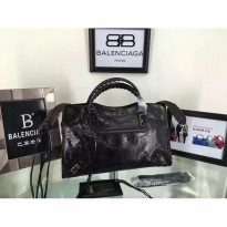 TAS BALENCIAGA 37cm LEDIX MOTORCYCLE. HANDBAGS. ORI LEATHER