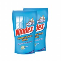Mr. Muscle Windex Liq. Fresh Pouch 800ml (Bundle 2)