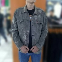 Jaket Denim Unisex Washing