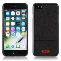 Remax Fabric Series Case for iPhone 7 Plus - Black