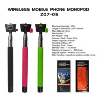 Wireless Mobile Phone Monopod Z07-5 (Tongsis Bluetooth)