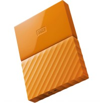 WD My Passport Colorful 3rd Generation USB 3.0 2TB - Orange