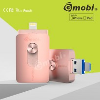 Gmobi iStick Pro 3 in 1 Micro Lightning USB 3.0 Flashdisk 64GB - Rose Gold