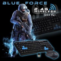 Set Wireless Keyboard Dan Mouse