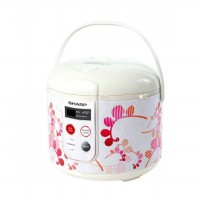 Sharp Rice Cooker KST18TLRD Kapasitas 1.8L Merah