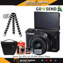 Canon EOS M10 Kit Ef 15-45mm IS STM Paket