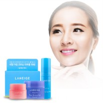 [Laneige] Goodnight Sleeping Care Kit (3 items) / Water Sleeping Mask + Lip Sleeping Mask + Eye Mask