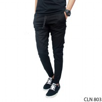 Men's Trousers Stretch Hitam – CLN 803