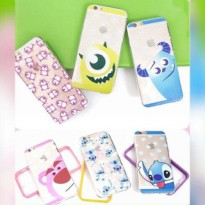 DISNEY JELLY FOR IPHONE 4, 4s, 5, 5s, 6 (SULLEY, STITCH, LOTSO)