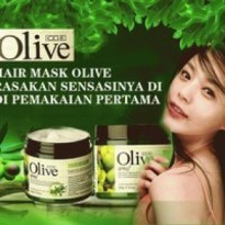 OLIVE Hair Mask Masker Perawatan Rambut Bervolume Original 500 gram ( hair care series )