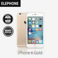 Apple iPhone 6 128GB Gold Smartphone {factory centified refurbish grade A+} + SOFTCASE
