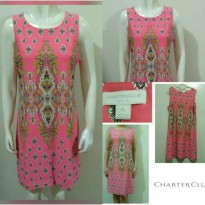 [Charter Club] pink dress/spandek korea melar/original