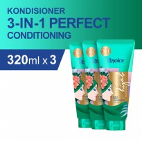 Rejoice 3-in-1 Perfect Conditioning Kondisioner 320 ml - Paket isi 3