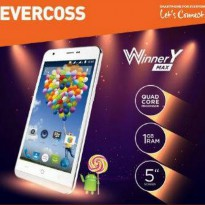 Evercoss A75 Winner Y Max. - Quad Core 1,3 GHz, 5