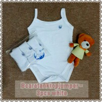Bcare Tanktop Jumper White isi 3 size S/M/L