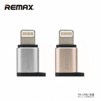 [esiafone best plug] REMAX Micro USB to Apple Lightning Pin Adapter Converter (Original)