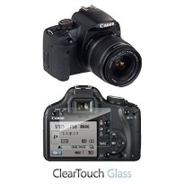 [worldbuyer] Canon EOS Digital Rebel T1i Screen Protector, BoxWave [ClearTouch Glass] 9H T/559309