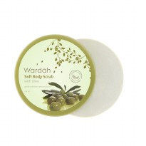 Wardah Soft Body Scrub with olive