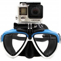 Telesin Kacamata Selam Diving Goggles Glass Mask with Detachable