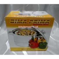 Panci BIMA Stainless steel Steamer 26 Cm with cover / k