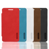 Dapad Candy Leather Flip Cover Asus Zenfone 4