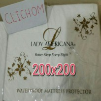 Lady Americana Waterproof Mattress Protector 200x200
