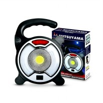 Mitsuyama Lampu Emergency COB SOS Powerbank Ms 505