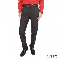 Male Slim Fit Suit Trousers Katun Abu Tua – CLN 872
