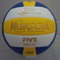 Bola Volley Mikasa 2200 Super Gold Kw Super