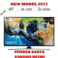 40Mu6100 Samsung Led 40 Inch 4K Uhd Smart Tv 40 New 2017 Ua40Mu6100 Harga Promo17