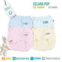CELANA POP BAYI FLUFFY (Isi 4Pcs) CCA WARNA NEWBORN