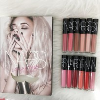 NARS SOLID - Long Lasting Color Lipgloss / Lipcream Palette Box Tumpuk