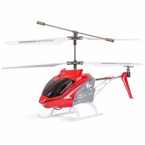 SYMA S39 RC Helicopter with GYRO Toy 2.4G 3 Channel - Merah