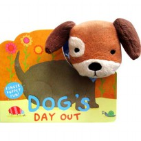 [Hellopandabooks] Dog's Day Out Finger Puppet Fun Board Book