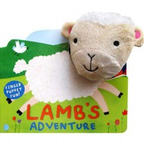 [Hellopandabooks] Lamb's Adventure Finger Puppet Fun Board Book