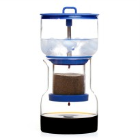 BRUER Slow Drip Cold Coffee Brewer Coffee Maker - Blue