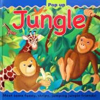 [Hellopandabooks] JUNGLE Large Pop-up Book