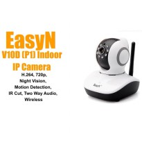Rotating CCTV IP Camera EasyN Mini 10D Wifi Plug and View