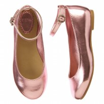 Gymboree USA Metallic Flats / shoes / sepatu pesta anak Terlaris/ ADM489