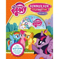 [HelloPandaBooks] My Little Pony Summer Sun Celebration Book and CD