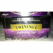 Twinings of london Darjeeling tea 25s refined black tea from himalayas
