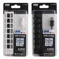 Usb Hub Saklar on off 7 Port Usb 2.0