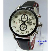 TAG HEUER Carrera Calibre 16 Day-Date (SB) Leather