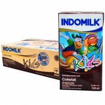 Indomilk Susu UHT Kid Vanilla - 115mL