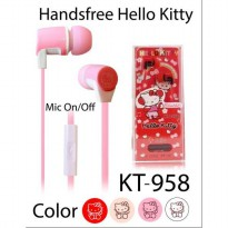 HANDSFREE ORIGINAL BY SANRIO 'HELLOKITTY KT-958'