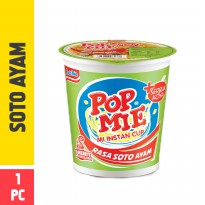 Pop Mie Kuah Rasa Soto 1pc 75g